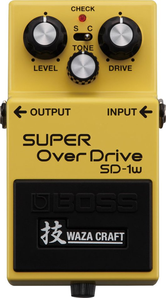 Waza Craft Special Edition Super Overdrive Analog Guitar Distortion Pedal