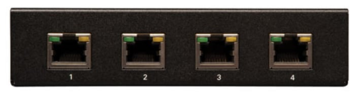 4-Port VGA with Audio over Cat5 / Cat6 Extender Splitter