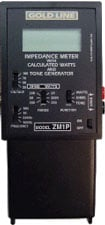 Goldline ZM1 Impedance Meter ZM1-GOLDLINE