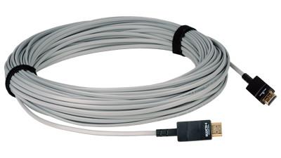 33 ft (10M) Plenum-Rated Hybrid Copper/Fiber Optic HDMI Cable