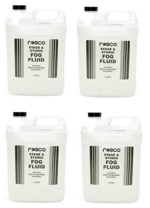 4 Count Carton of 4 Liter Fog Fluid Containers