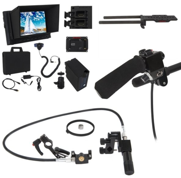 Ultimate Zoom/Focus Lens Control Kit with HD Monitor