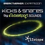iZotope Kicks & Snares BreakTweaker Sound Library KICK-SNARE