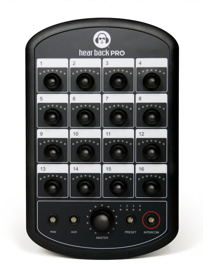 Hear Back PRO 18-Channel Personal Monitor Mixer
