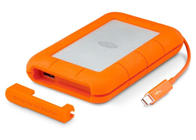 250GB Rugged Thunderbolt/USB 3.0 Hard Drive