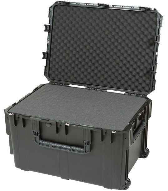 "SKB Cases 3I-3021-18BC  iSeries Waterproof Case with Cubed Foam, 30""x21""x18"" 3I-3021-18BC"