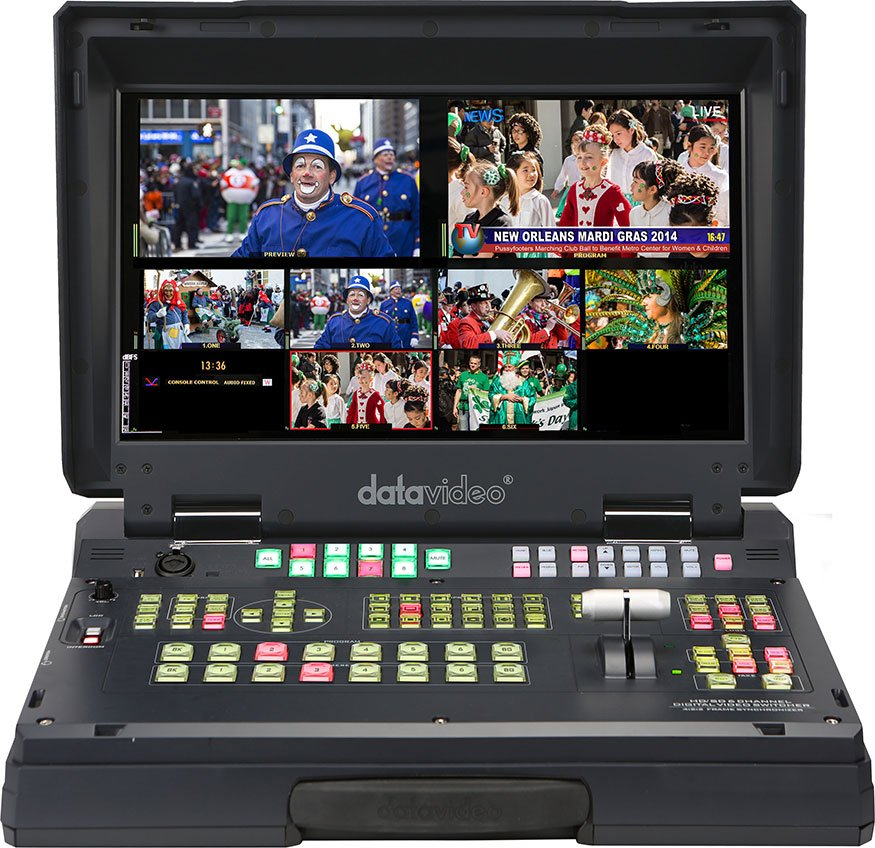 HD/SD-SDI and HDMI Mobile Studio