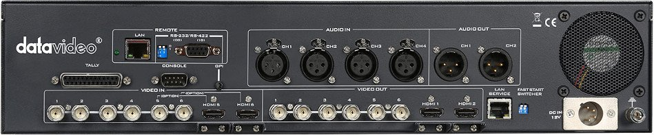 Datavideo Corporation SE-2200  Switcher, HD-SDI 6 Input  SE-2200