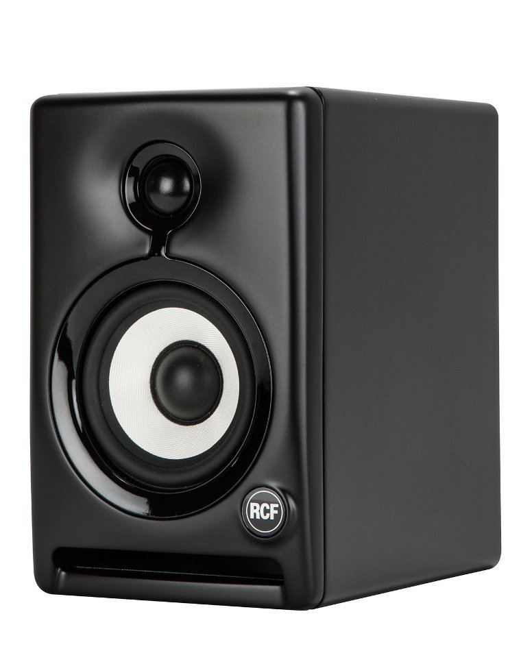 "Pair of 4"" 2-Way Active Studio Monitors in Black"