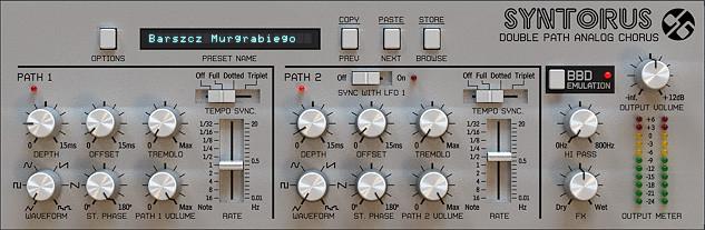 Analog Chorus Software Plugin