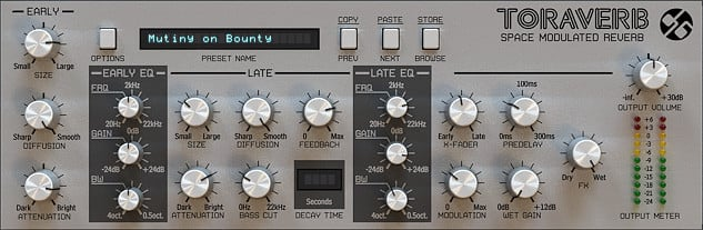 Space Modulated Reverb Software Plugin