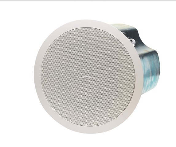 "6.5"" Ceiling Speaker with 70/100V Transformer and Low Impedance Operation, Blind Mount Version"