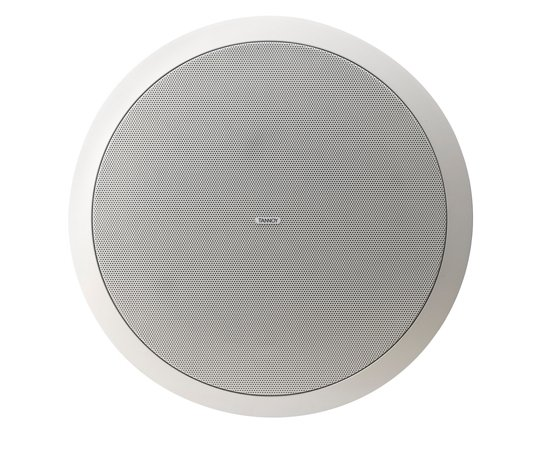 "8"" Ceiling Speaker with 70/100V Transformer and Low Impedance Operation for High Ceiling Applications"