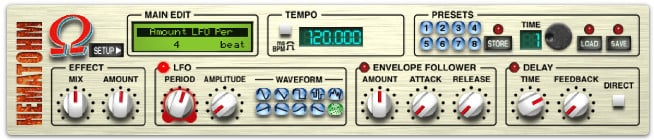 OHM Force Hematohm Frequency Shifter Software Plugin HEMATOHM