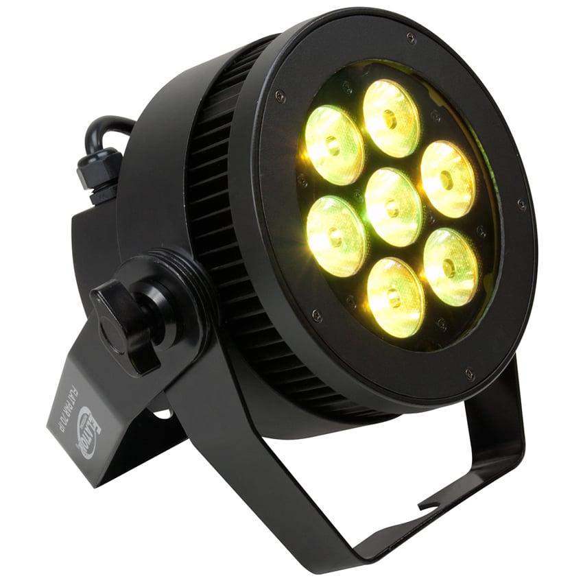 7x 15W RGBW LED Flat Par Fixture