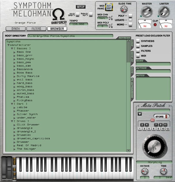 Sample Player/Granular Synthesizer Virtual Instrument Software Plugin