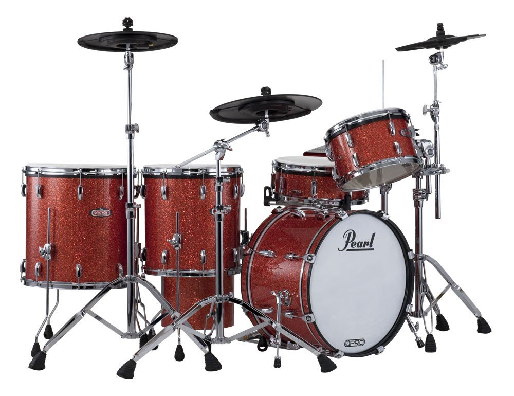 5-Piece Natural Cherry ePro Live Electronic Drum Kit with 830 Hardware