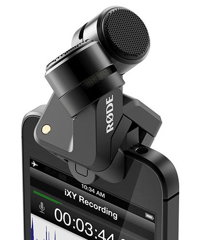 XY Stereo Microphone for iOS Devices with Lightning Connector