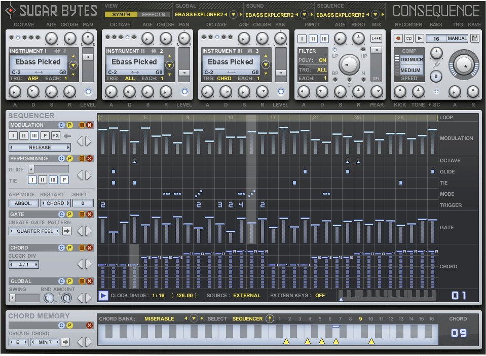 Chord Sequencer Software Instrument Plugin