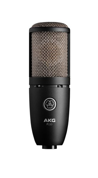 AKG P220  Large Diaphragm Side-Address Cardioid Condenser Microphone P220