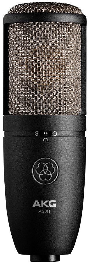 Dual Diaphragm Multipattern Side Address Condenser Microphone