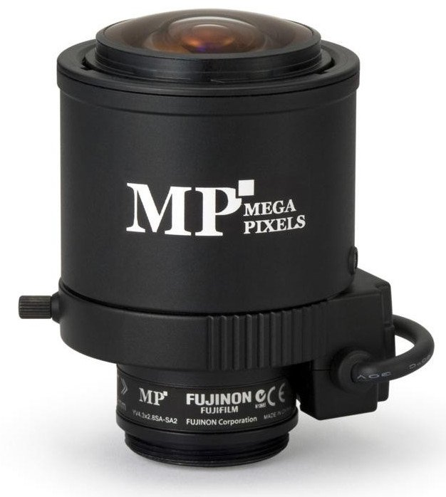 3 MP Varifocal Lens 2.8-12mm with DC Auto Iris