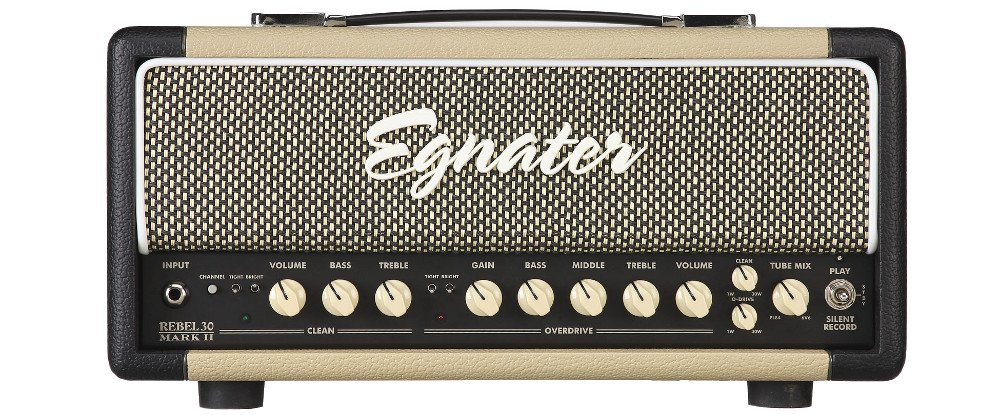 30W 2-Channel Tube Guitar Amplifier Head