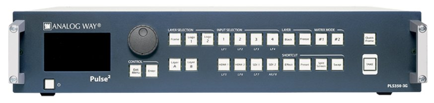 Hi-Resolution Mixer Seamless Switcher with 8 inputs and Native Matrix mode