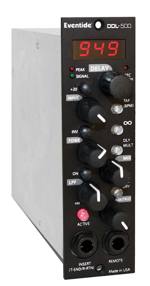 500 Series Digital Delay with Analog Circuitry