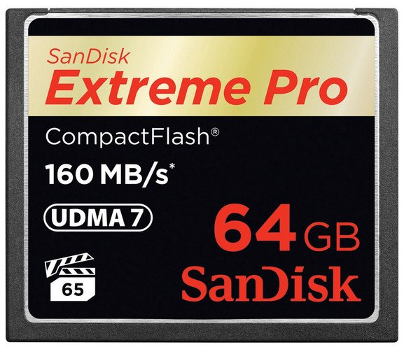 128GB Extreme PRO CompactFlash Card