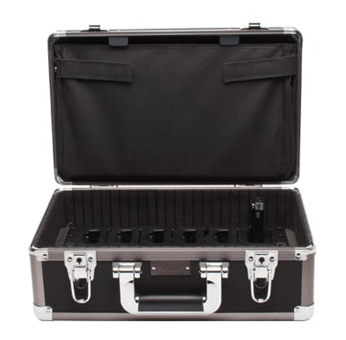 Intelligent 12-Unit Charging/Carrying Case for iDSP Receivers