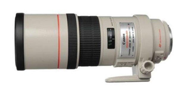 Canon 2530A004 EF 300mm f/4L IS USM Telephoto Lens 2530A004