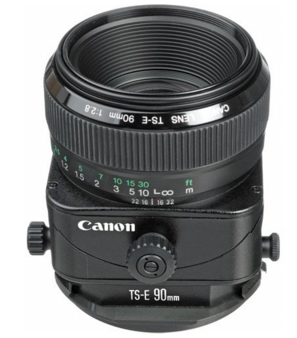 TS-E 90mm f/2.8 Tilt-Shift EF Lens