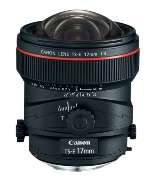 TS-E 17mm f/4L Tilt-Shift Lens