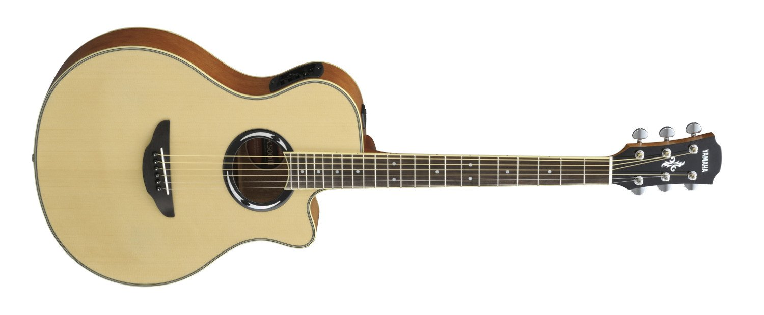 Natural Acoustic/Electric Guitar with System 66 Electronics