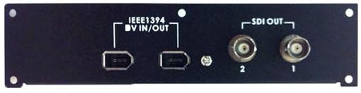 Optional DV / SDI Output Card