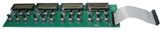 UI PCB for M13