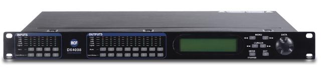 4 Input, 8 Output Digital Loudspeaker Management System