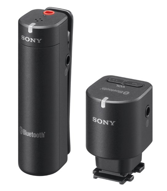 Wireless Bluetooth Microphone System for Sony Cameras with Multi-Interface Shoe