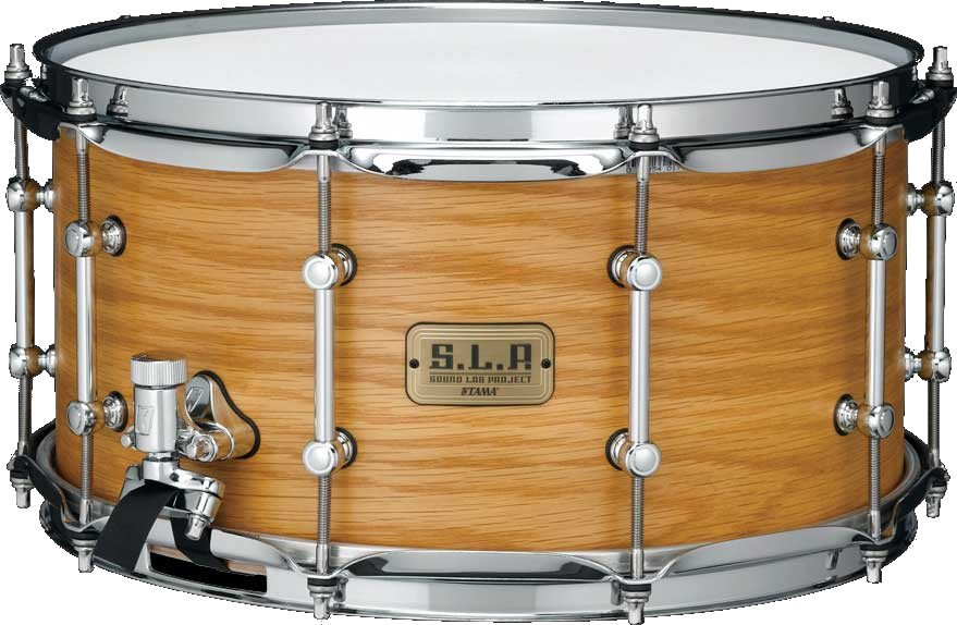 "7x14"" Backbeat Bubinga/Birch S.L.P. Series Snare Drum"