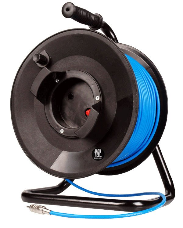 Jackreel Deluxe 1 Channel BNC with 250 ft of Belden 1505A Cable