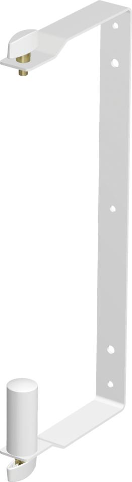 White Wall Mount Bracket for EUROLIVE B210 Series Speakers
