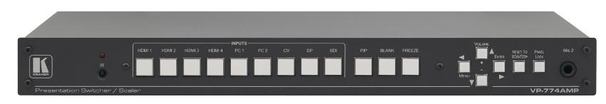 9 Input HDMI and HDBaseT ProScale Presentation Switcher-Scaler
