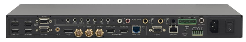 Kramer VP-774AMP 9 Input HDMI and HDBaseT ProScale Presentation Switcher-Scaler VP774-AMP