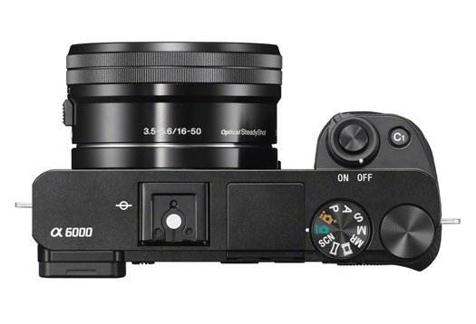 a6000 Mirrorless Compact Digital SLR Camera with SELP1650 Lens
