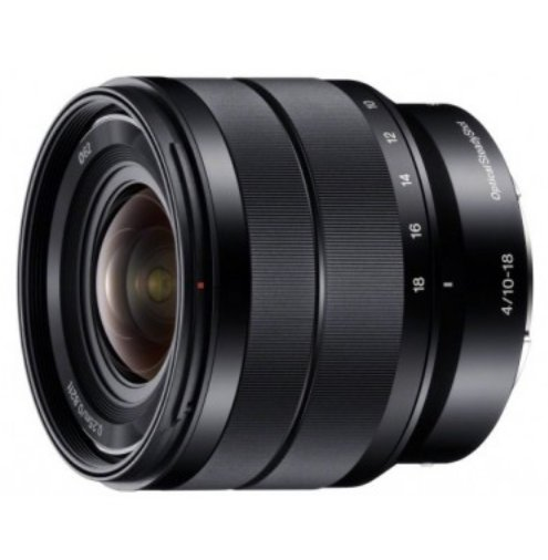 E 10-18mm F4 OSS E-mount Wide Zoom Lens