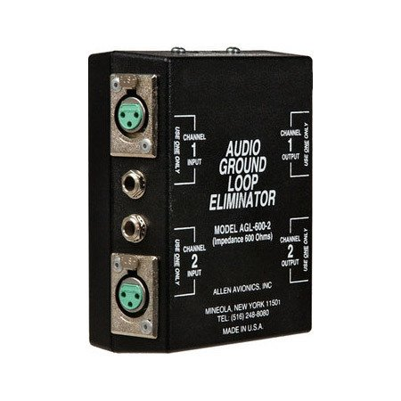 Audio Ground Loop Isolation Transformer