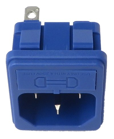 Elation Pro Lighting 7656001-033  AC Socket with Fuse for Opti Tri Par 7656001-033