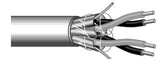 Cable Digital 2pr,2 4g, AES/EBU, 1000'