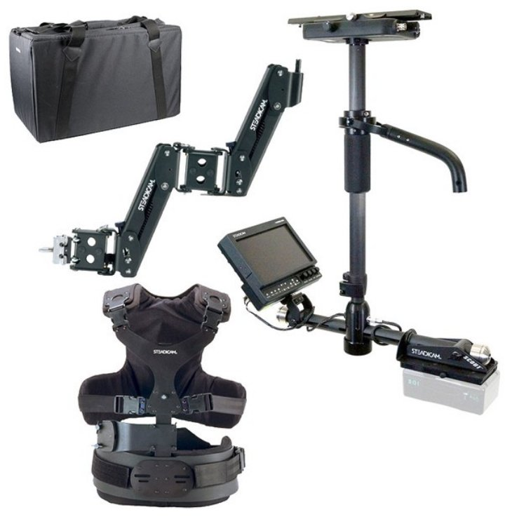 Pilot HD Camera Stabilizing System with V Battery Mount